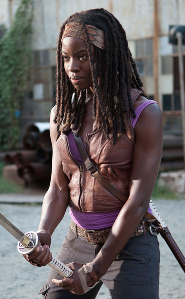 Michonne & Michonne - TV-Inspired Halloween Costumes 2013 - Zimbio