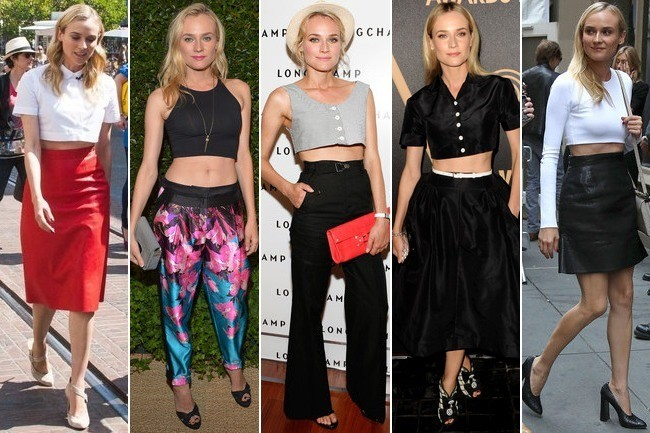 Diane Kruger's Crop-Top Infatuation