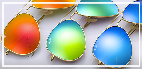 Now Trending: Ray-Ban Aviator Flash Lenses