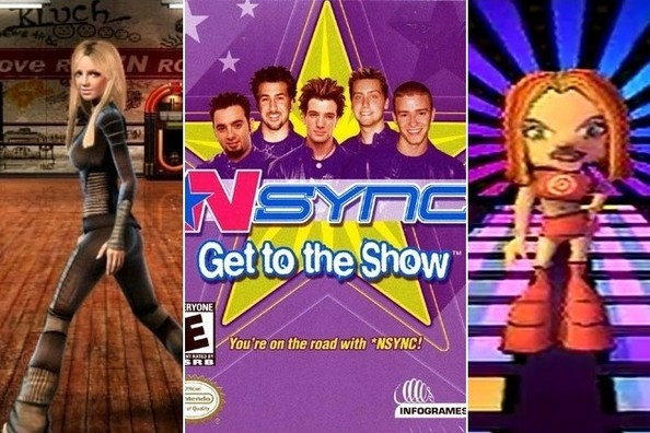 Lost and Forgotten Pop Star Video Games
