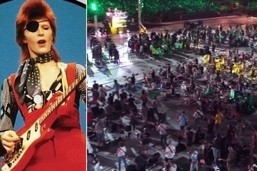 Watch 1,000 Musicians Cover David Bowie's 'Rebel Rebel'