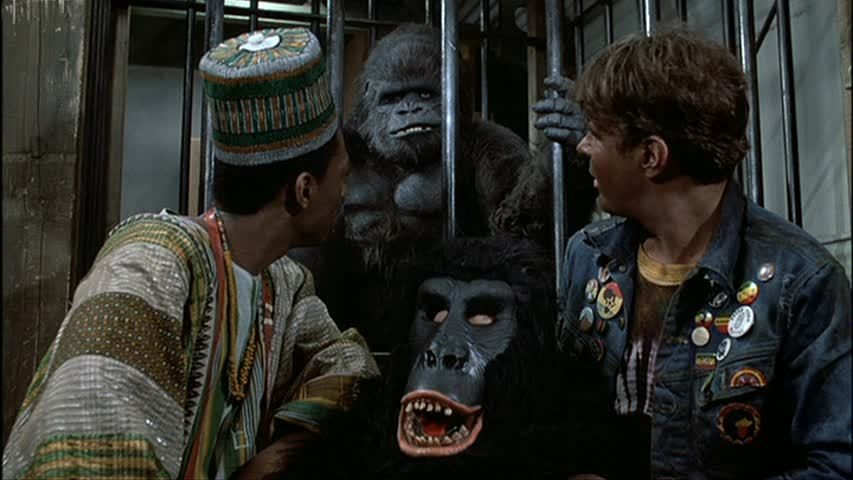 Don McLeod as the gorilla in 'Trading Places.'