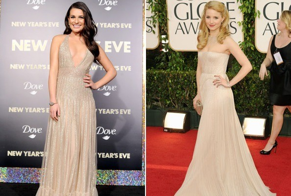 'Glee' Frenemy Fashion Face-Off: Lea Michele vs. Dianna Agron on the Red Carpet