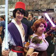 Aladdin and Rapunzel with Lightsabers