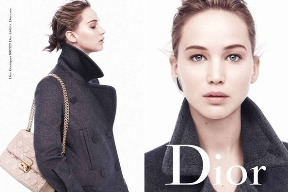 Jennifer Lawrence Goes Au Naturel for New Dior Ads
