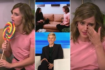 Emma Watson Hilariously Interviews a Nanny for Herself on 'Ellen'