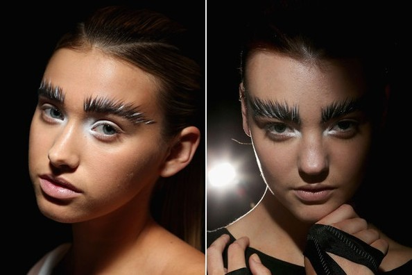 Look at These Giant Eyebrows from Australian Fashion Week