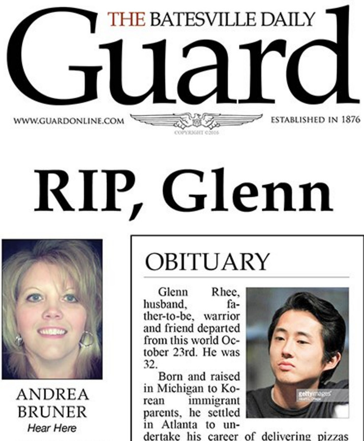 goodbye old friend arkansas newspaper publishes obituary for