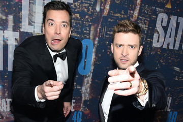 """Justin Timberlake and Jimmy Fallon Continue Bromance with Longing """"Looks"""" Video"""