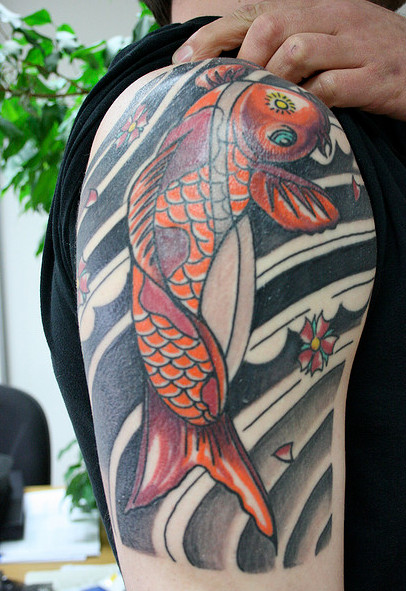 Koi Fish Tattoo Pictures