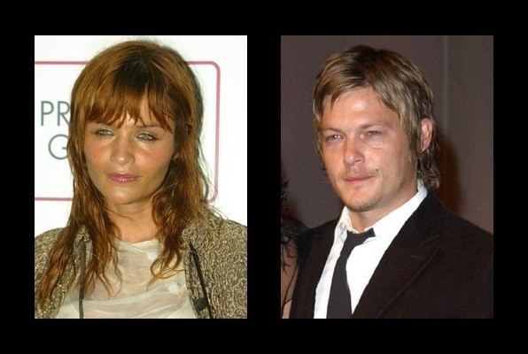 norman reedus on helena christensen
