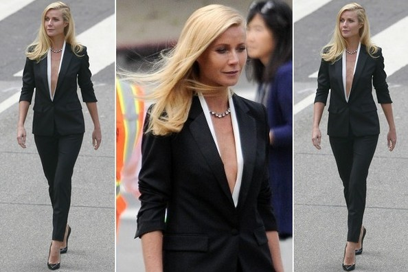 Quick Question: Would You Ever Wear Absolutely Nothing Underneath a Blazer?