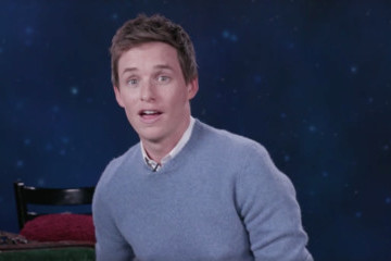 Eddie Redmayne Holds It Down for Hufflepuffs in New PSA