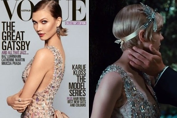 Karlie Kloss Models 'The Great Gatsby''s Prada Costumes