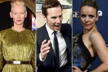 The Stars of 'Doctor Strange' Out of Costume