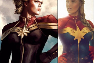 Ronda Rousey Would Very Much Like to Play Captain Marvel, Thanks
