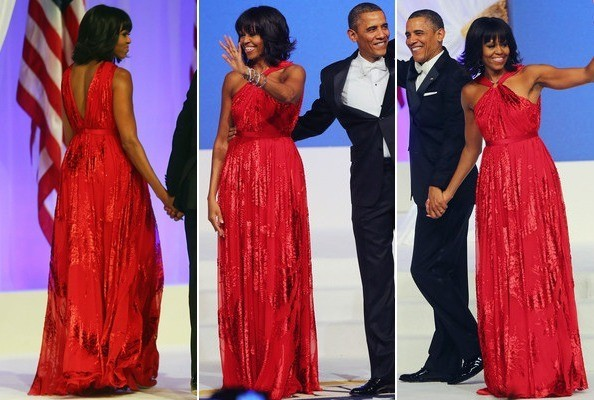 Which Jason Wu Inaugural Gown Do You Like Better—2009 or 2013? Vote!