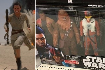 'Star Wars' Toy Sets Are Excluding Rey, and It's Ridiculous