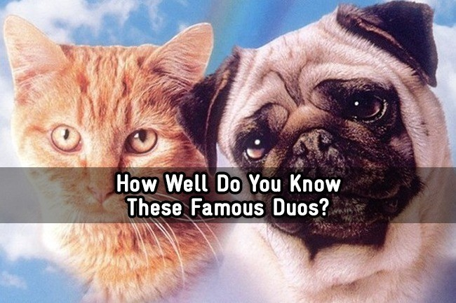 How Well Do You Know These Famous Duos  - Trivia Quiz