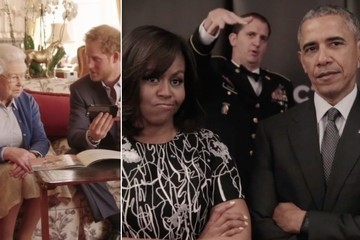 The Obamas, Queen Elizabeth II, and Prince Harry Just Had the Most Precious Twitter Battle