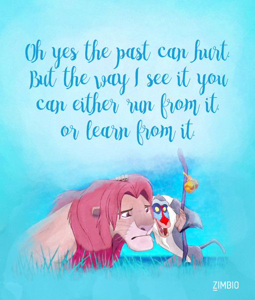 moving on these inspirational disney quotes will