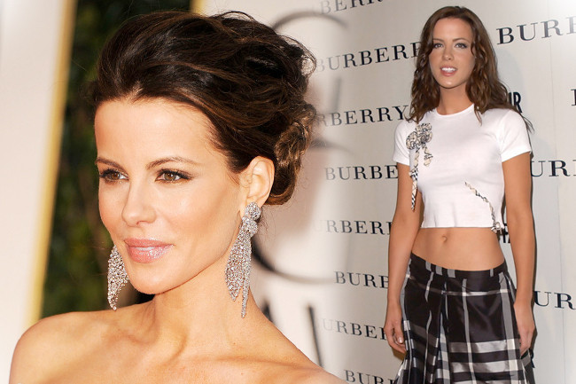 Fashion Flashback - Kate Beckinsale Then & Now