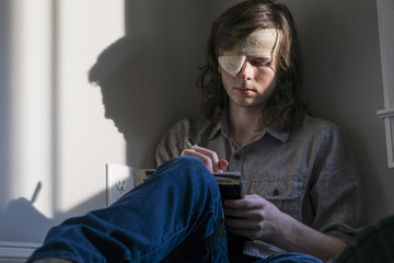 Examining Carl's Letter To Negan In More Detail