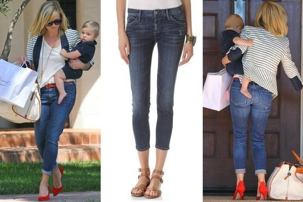 Love Reese Witherspoon's Perfect Cropped Summer Jeans? Here's Where to Find Them