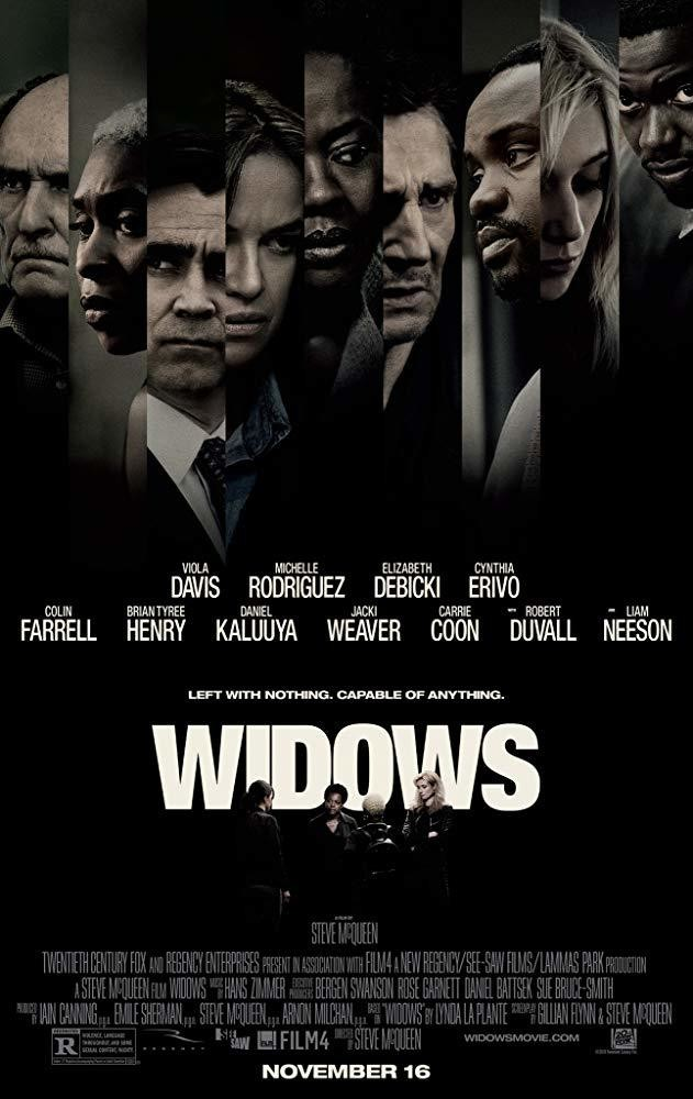 'Widows' Is Something Rare -- A Slick Action Film With Smarts