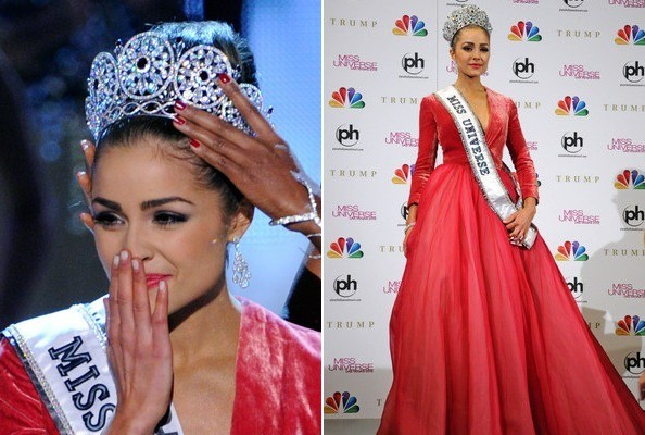 Miss USA Olivia Culpo Crowned Miss Universe, Wore Sleeves