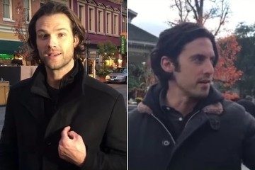 Damn, Jared Padalecki and Milo Ventimiglia Look Hot as Hell on the Set of 'Gilmore Girls'