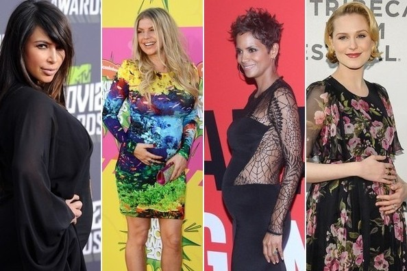 Star Moms Expecting in 2013