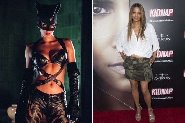 Halle Berry As Catwoman Female Superheroes In And Out Of Costume