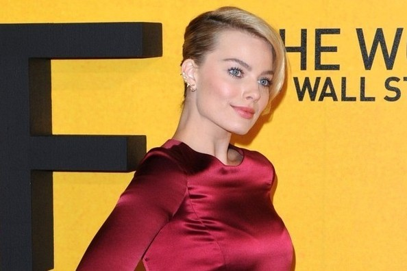 Margot Robbie Reinvents the Red Gown