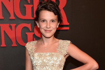 Watch Millie Bobby Brown Cut Off Her Hair for 'Stranger Things'