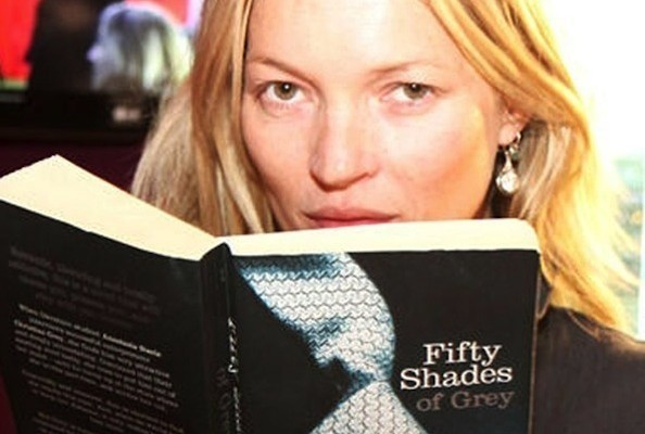 Watch Kate Moss Read Aloud From 'Fifty Shades of Grey' [VIDEO]