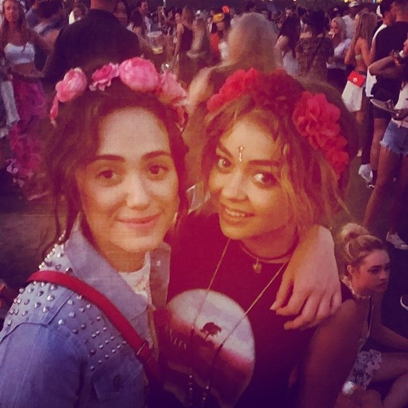 The Coolest Celebrity Instagrams From Coachella 2014