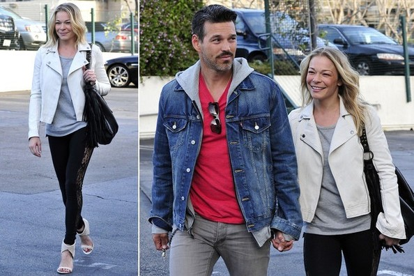 Daily Deal: Leann Rimes's White Moto Jacket