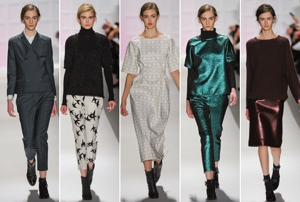 Comfort Is King: Tibi Fall 2012