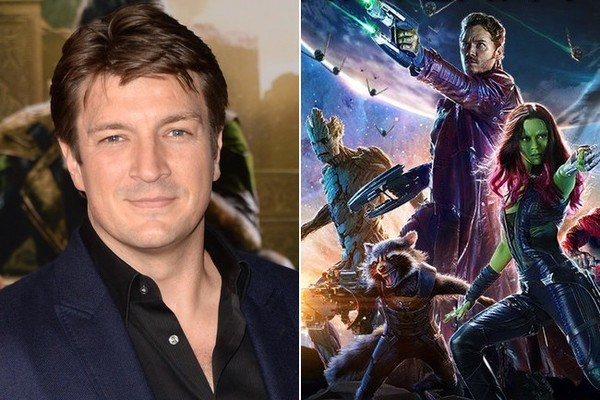 Get Ready to See Nathan Fillion in 'Guardians of the Galaxy Vol. 2'