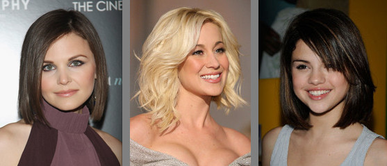 medium length celeb hairstyles. 10 medium-length celebrity