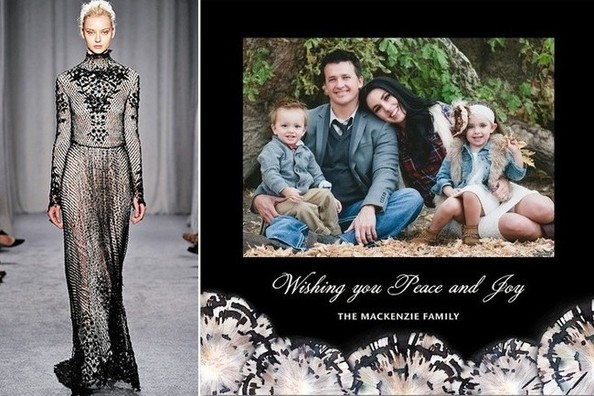 The Perfect Little Something: Holiday Cards from Marchesa