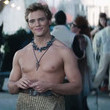 Finnick is all skirt and no shirt.