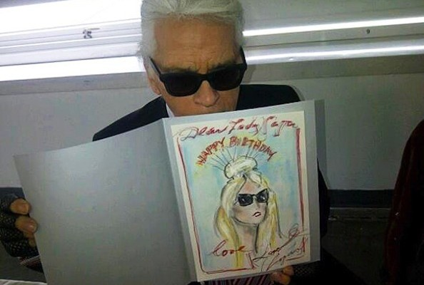 Karl Lagerfeld's Birthday Gift to Lady Gaga, The World's Most Expensive Shoes, and More!
