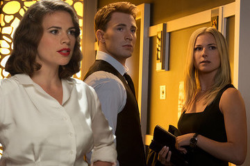 Peggy Carter Is NOT Okay with Captain America Kissing Her Niece