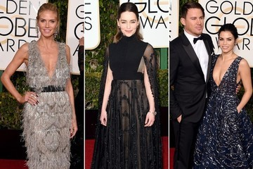 The Stars Arrive to the 2016 Golden Globes