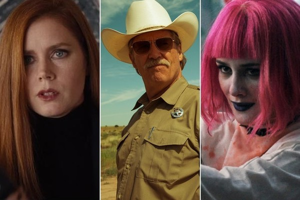 Amy Adams in Nocturnal Animals, Jeff Bridges in Hell or High Water, Addison Tillman in Little Sister. (Focus | CBS Films | Forager Films)