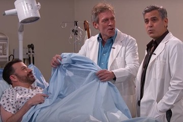 George Clooney Uses Hip Hop to Save a Life During 'ER' Reunion