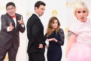 The Silliest Photos from the Emmys Red Carpet