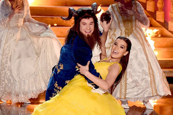 Be Our Guest: Adam DeVine & Hailee Steinfeld Spoof 'Beauty & the Beast' at MTV Movie & TV Awards